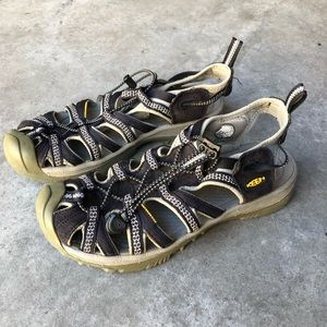 Keen Whisper Waterproof Hiking Sandals 8.5